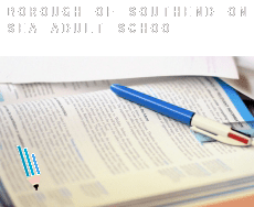 Southend-on-Sea (Borough)  adult school