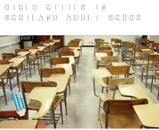Other cities in Scotland  adult school
