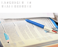 Languages in  Staffordshire