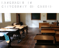 Languages in  City and of Cardiff