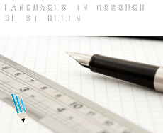 Languages in  St. Helens (Borough)