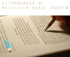 Sheffield (City and Borough)  dance academy