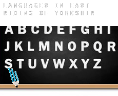 Languages in  East Riding of Yorkshire