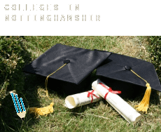 Colleges in  Nottinghamshire
