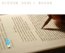 Alkham  adult school