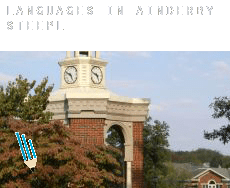 Languages in  Ainderby Steeple